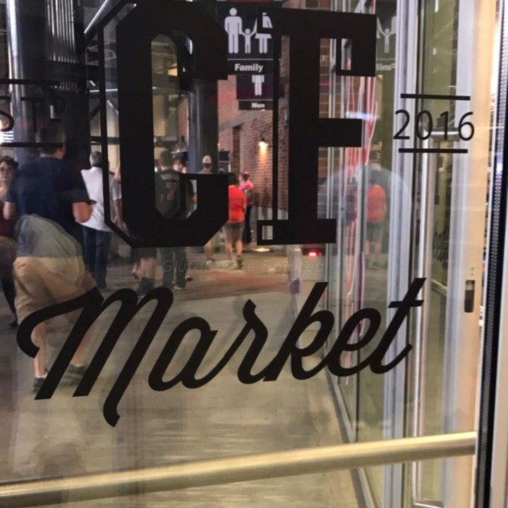 Image of Centerfield Market door logo