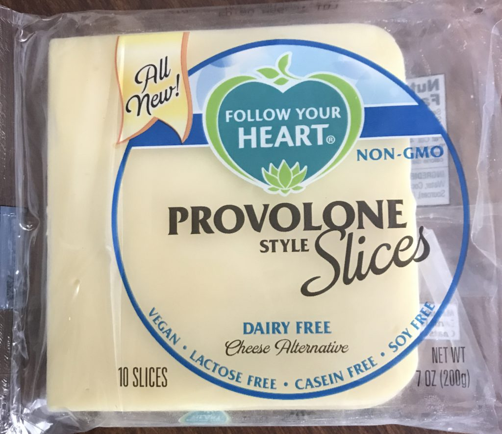 An image of Follow Your Heart dairy free cheese.