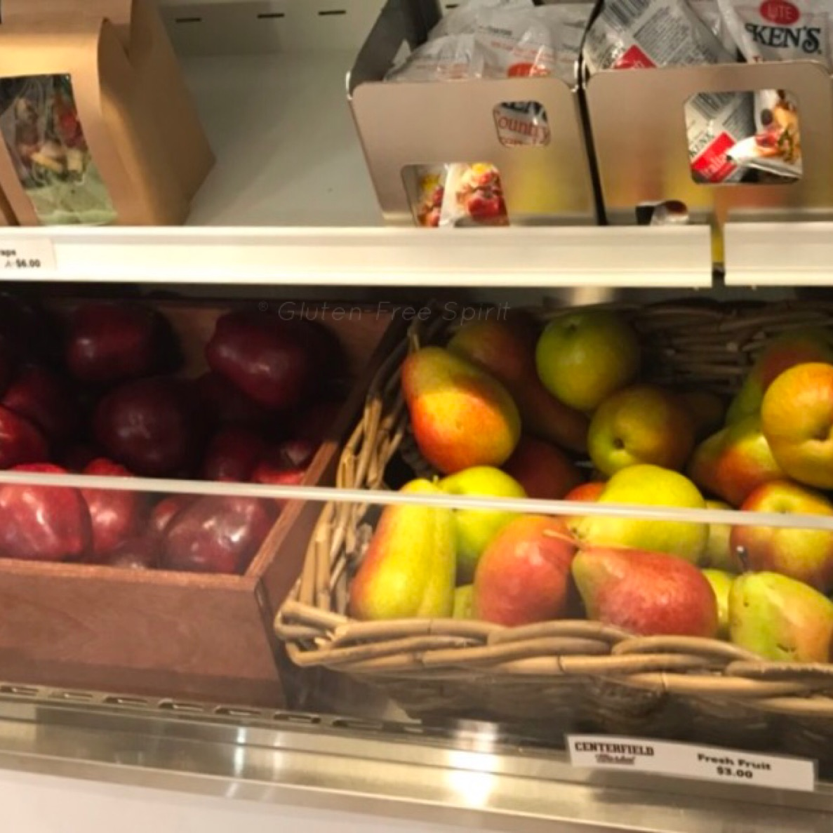 Image of apples and pears at SunTrust Park