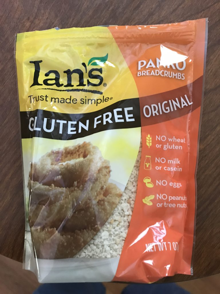 A picture of Ian's Gluten Free Panko Crumbs
