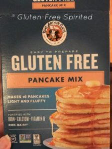 An image of King Arthur Gluten Free Pancake Mix
