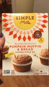 Simple Mills Pumkin Muffin and Bread mix