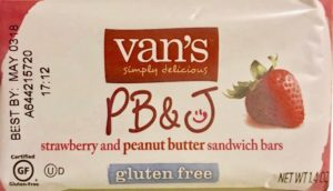 Van's Strawberry PB & J Bar