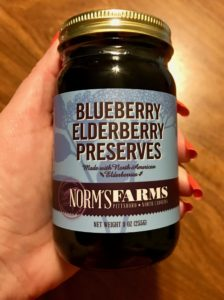 Blueberry Elderberry Preserves