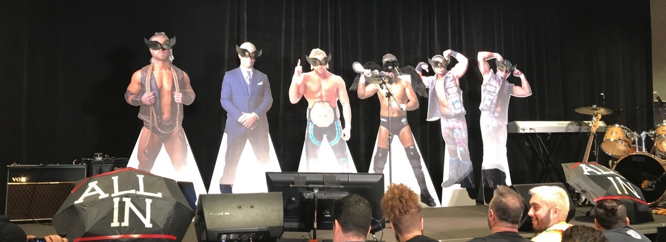 Bullet Club cutouts