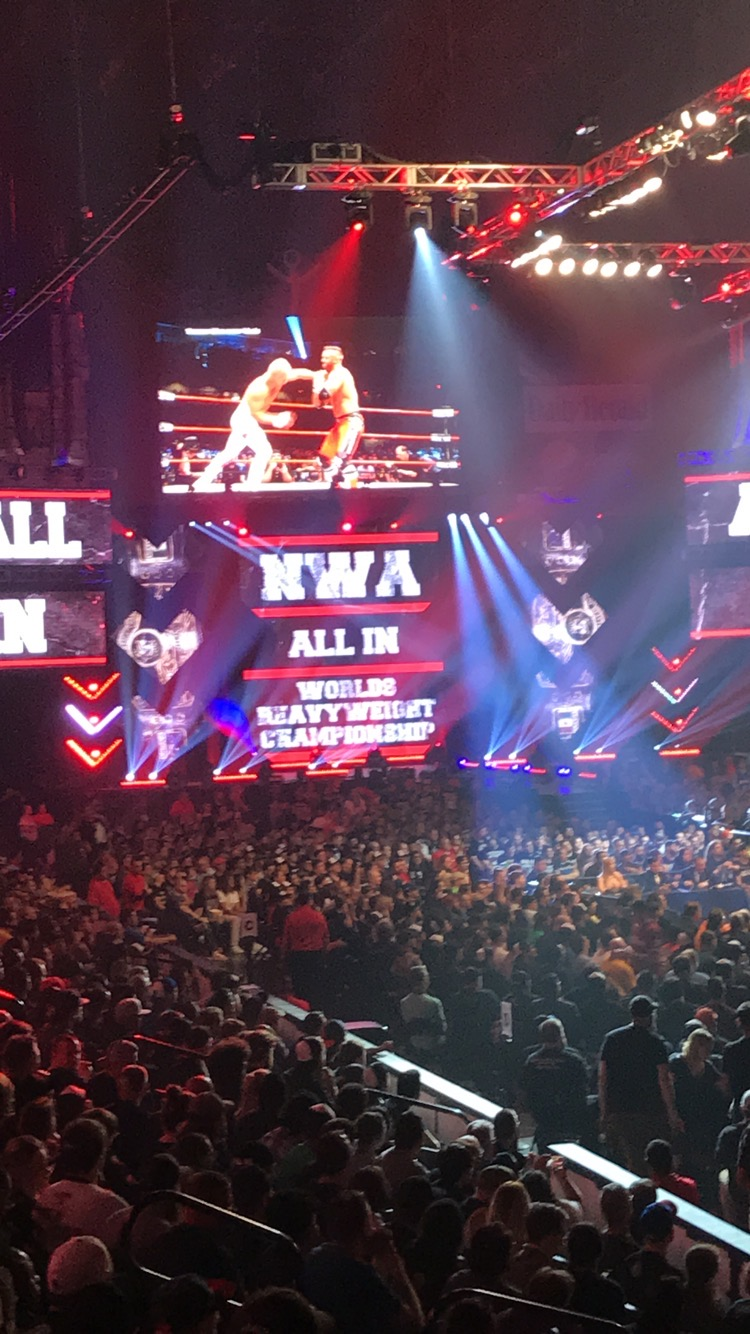 NWA match at All In
