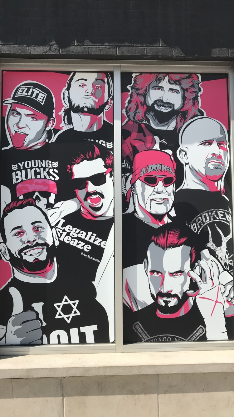 Pro Wrestling Tees artwork