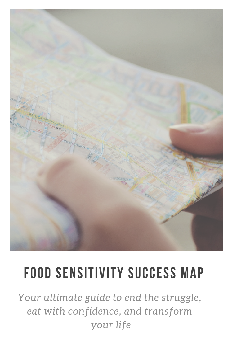 My New Coaching Program: Food Sensitivity Success Map