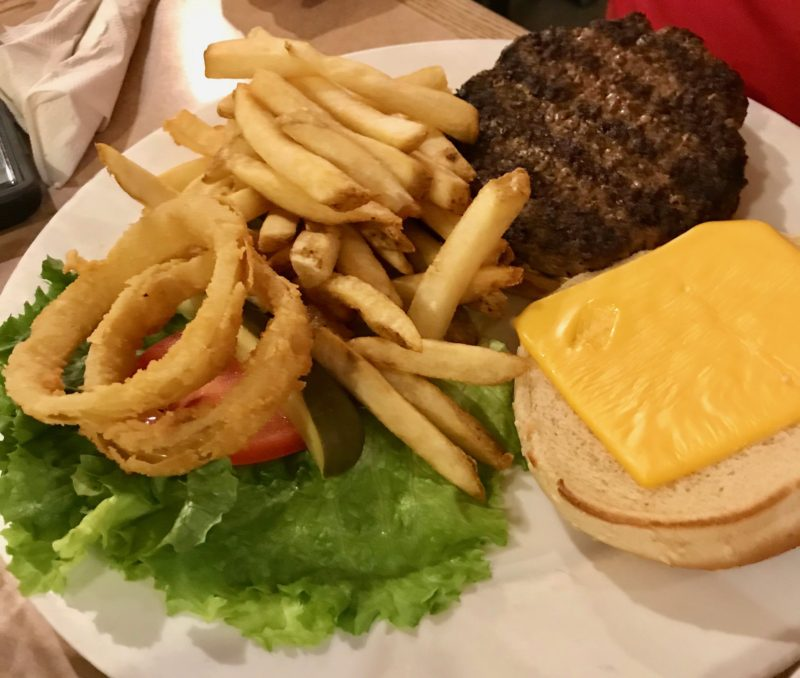 Cheeseburger Deluxe from Landmark Diner