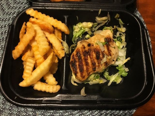 Zaxby's Grilled Chicken sandwich